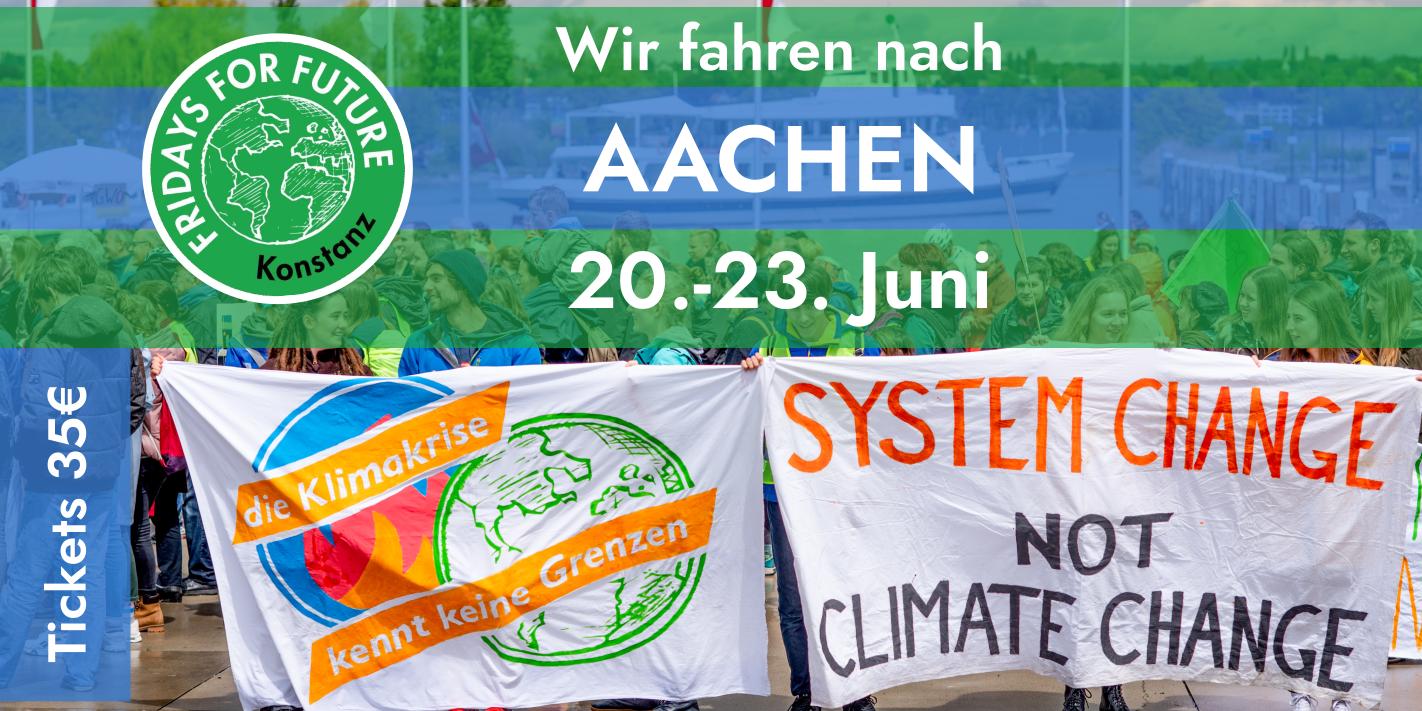 Kommt wir fahren nach Aachen!